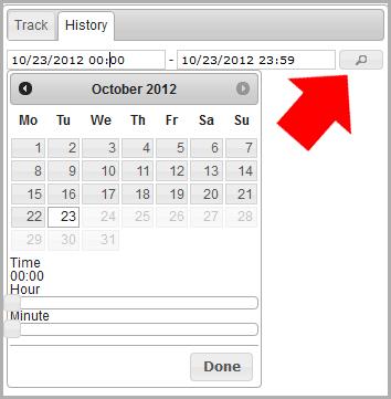 choose a date range