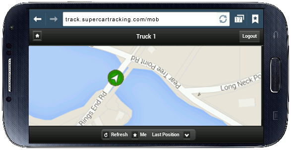 Smartphone app to track your car from anywhere